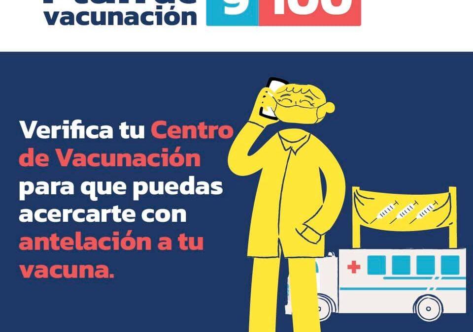 ¡No te quedes sin tu vacuna del #PlanVacunación9100! Recuerda que si no pudist…