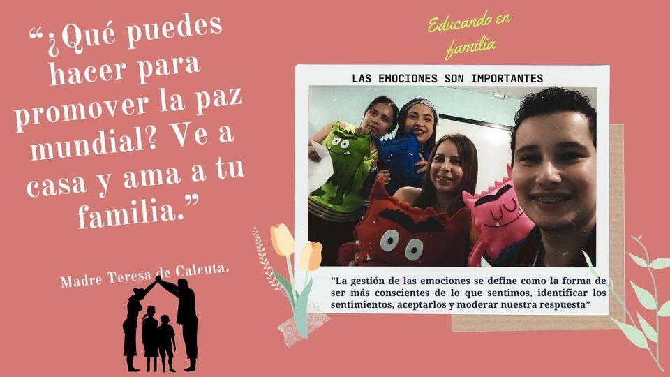"""El programa """"Educando en Familia"""" está orientado a fortalecer y potencializar la…"""