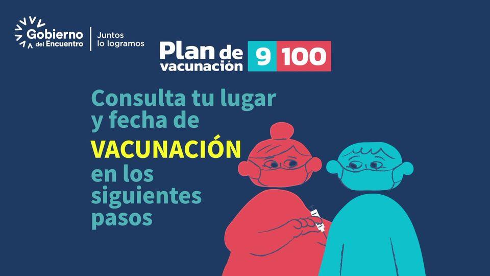 ¡Arrancamos el #PlanVacunación9100, el más importante en la historia del Ecuador…