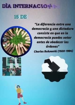HOY, miércoles 15 de Septiembre de 2021, Ecuador celebra el Día Internacional d…
