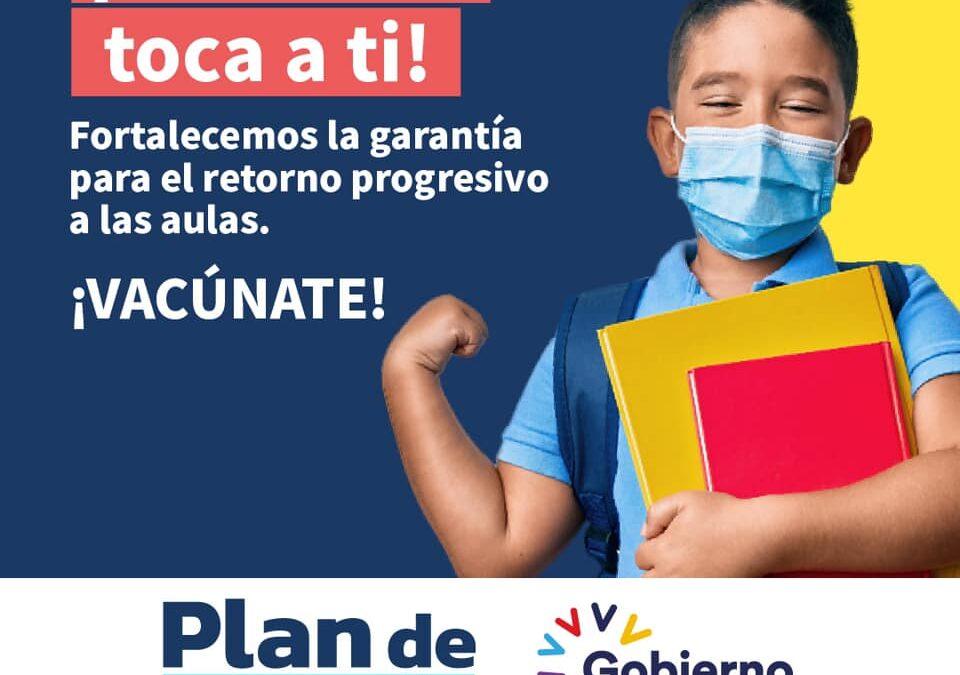El #GobiernoDelEncuentro empezará a aplicar la vacuna a niñas y niños de entre 1…